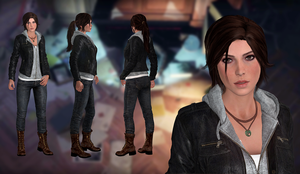 Lara Croft(Casual MOD) Rise of the Tomb Raider by XKammyX