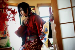 [Dramatical Murder] Koujaku Leader of Beni Shigure by Seiran-Kisaragi