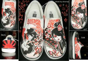 My Custom Shoes. by alice-top