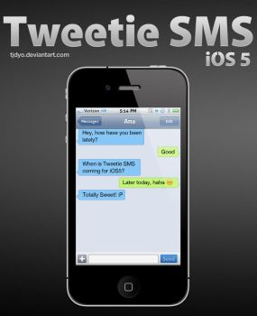 Tweetie SMS iOS 5 - Discontinued by Tjdyo