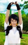 Videl cosplay - Dragon BallZ by EnjiNight