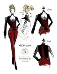 PROJECT RUNWAY Week 3: Riviera Red by i-anni