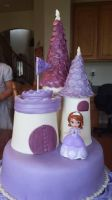 Cake - Princess Sofia the First by soulwarden11