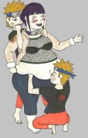 Hinata Fat Tickle by LightningBob
