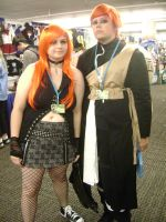 Gaara and his female version by Naez