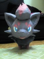 Zorua Papercraft 2 by riolushinx