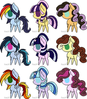 Shipping Point Pony Adopts 1 [CLOSED] by Color-Clouds