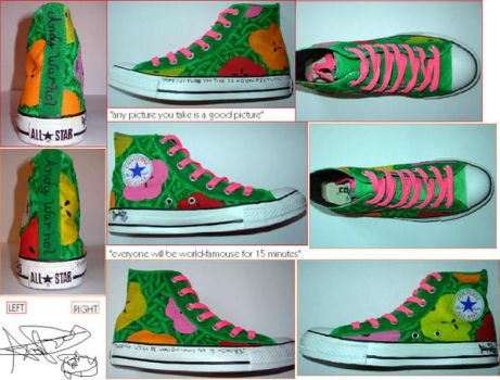 Warhol converse by AcidAnge