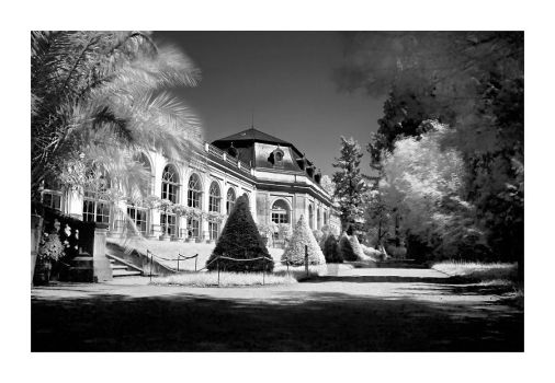 Pillnitz in Dresden in IR 2 by Torsten-Hufsky