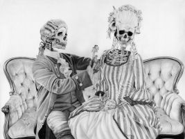 Rococo Skeletons by VivaciousMelancholy