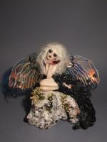 OOAK Broken Heart Faerie by Sara Rojo by FantasyLilyan