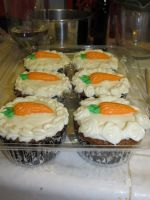 Carrot Cake Cupcakes by rltan888