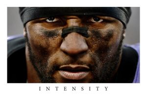 Ray Lewis Intensity Wallpaper by timdallinger
