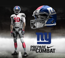 New York Giants Away by DrunkenMoonkey
