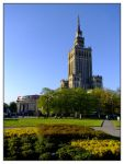 Palace of Culture and Science by evaPM