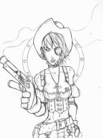 Pirate Girl rough by SInnY-Halo