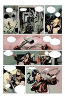 RED ONE # 2 Page 1 Colors by TerryDodson