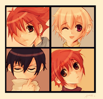 Ouran: Mosaico by odenkitsune