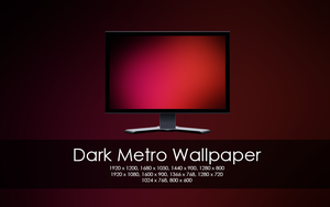 Dark Metro Wallpaper Pack by poiZNxx