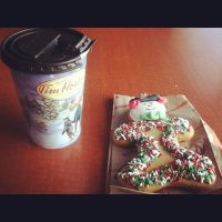 Hotchocolate and gingerbread cookie picture by Musicislove12