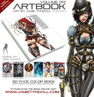 Artbook by jamietyndall