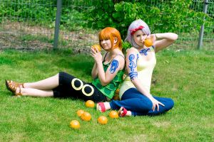 OP: Orange Sisters by Shikke