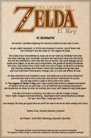 The Legend of Zelda Greetings by Comiz-INC