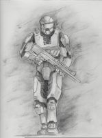 Halo: Master Chief by welchcellars