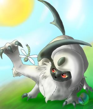 Absol by maelthra-chath