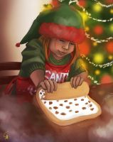 Holiday Baking by SurrealMime