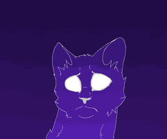 Blinking StarClan Cat :Animation: by purrsians