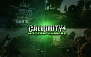 Call of Duty 4 Wallpaper by TheMajesticGoat