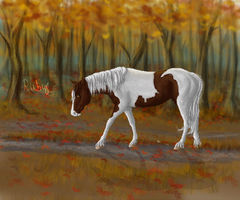 Peaceful Fall Evening by WhimsicalRuby