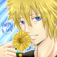 Len : Happy Birthday by sakurasamichan