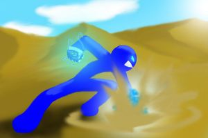 Oxob in desert by oxob3000