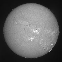 The sun from July 27 by giovannigabrieli
