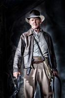 Indiana Jones by garnettrules21