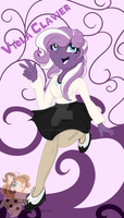 Viola Clavier commission by CreativeChibiGraphic