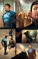 STAR TREK 15 page 5 by Fajar, Ifansyah and Yuwono by DeevElliott