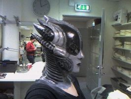 Alien makeup by CsDesigns83