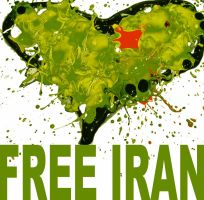 Free Iran by timothyraines