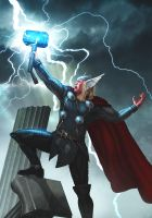 The Mighty Thor by ChekydotStudio