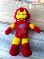 Felted Iron Man by SoVeryUnofficial