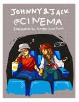 Johnny and Jack in cinema by amoykid