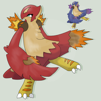 FAKEMON VOLCONDOR by mssingno