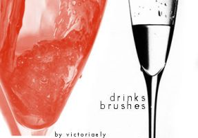 Drinks brushes by victoriaely