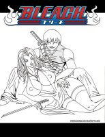 BLEACH POSTER2 - INKS by DSNG