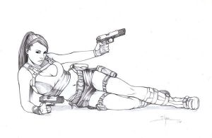 alison carroll lara croft 2 by illyne