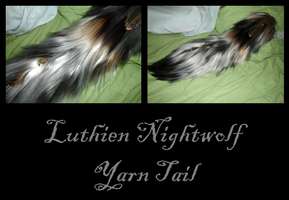 Luthien Nightwolf Yarn Tail by Ibbins