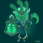 Chibi Thresh by RinTheYordle